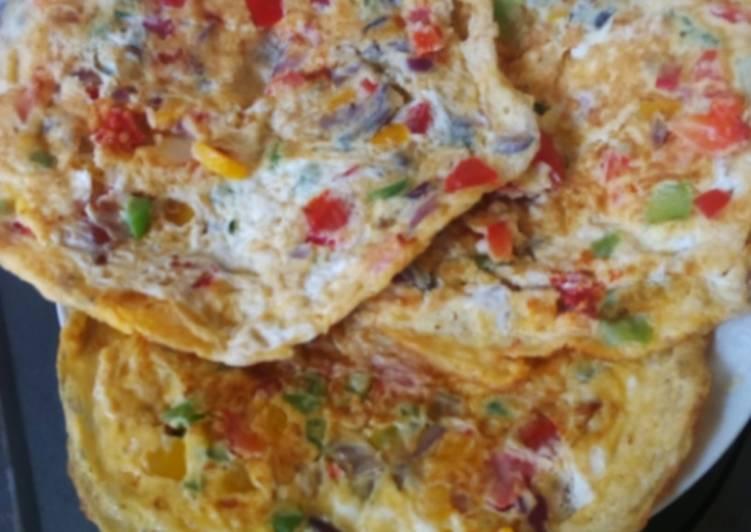 Eggs omlette