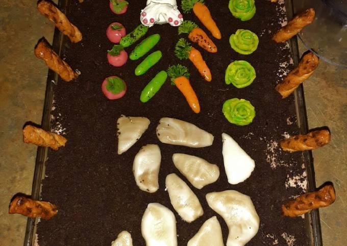 Simple Way to Make Homemade Pass the Garden Dirt Cake