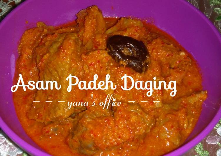 Asam Padeh Daging Yana