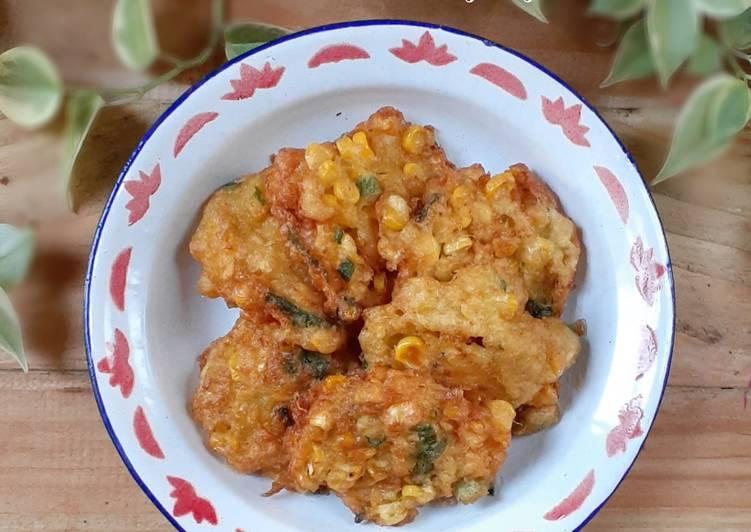 Perkedel Jagung (glutenfree)