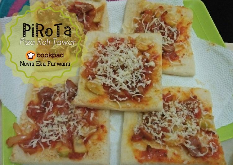 Resep PiRoTa (Pizza Roti Tawar) yang Lezat