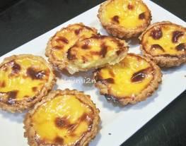 Egg tart portuguese / egg tart portugis anti gagal