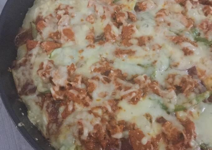 Tandori chicken pizza  #Ramadankitayeri #Cookpad