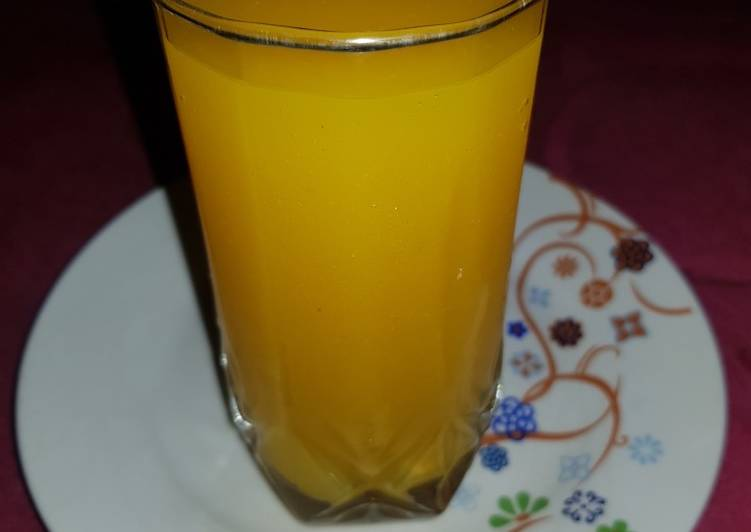 Steps to Make Favorite Mango juice