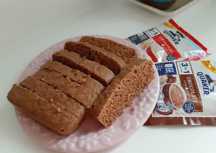 Resep Brownies kukus oat drink yang Menggugah Selera