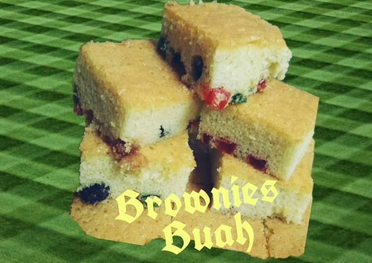 Brownies Buah #PhopPercuma