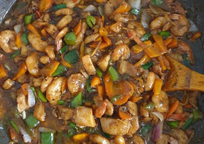 Chicken & Seafood Oyster Sauce
