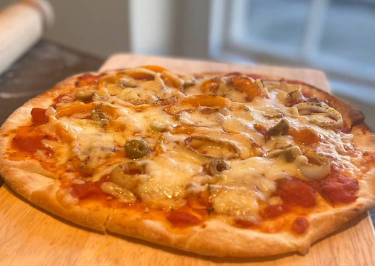 Super easy and tasty pizza dough 🍕