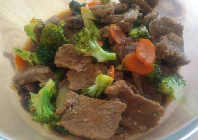 Tumis brokoli daging sapi kecap - projectfootsteps.org