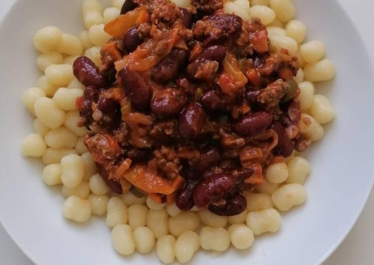 Gnocchi sauce rouge