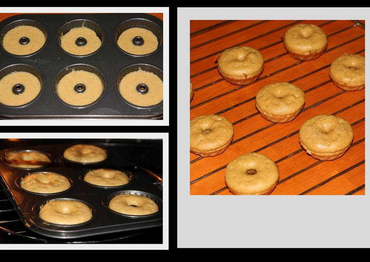 Home baked doughnuts