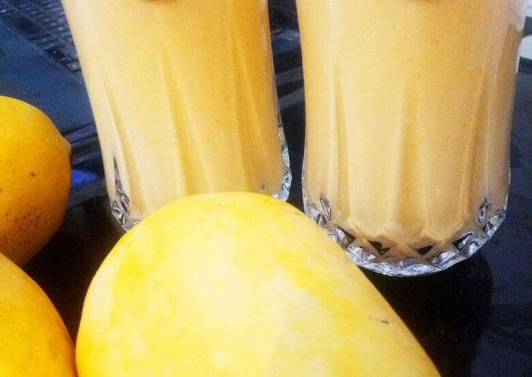 Step-by-Step Guide to Prepare Speedy Mango juice