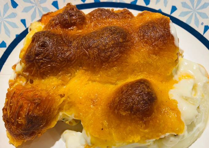 Sweet Potato ???? Tater Tot Casserole