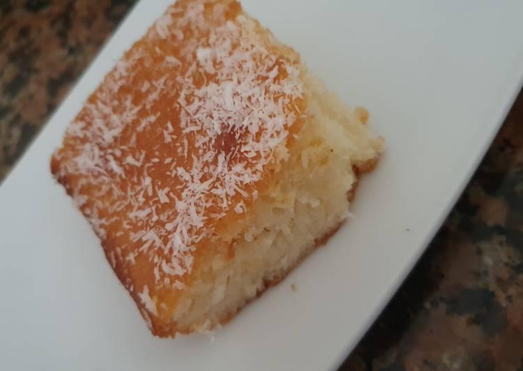 Délicieux Gâteau à la noix de coco