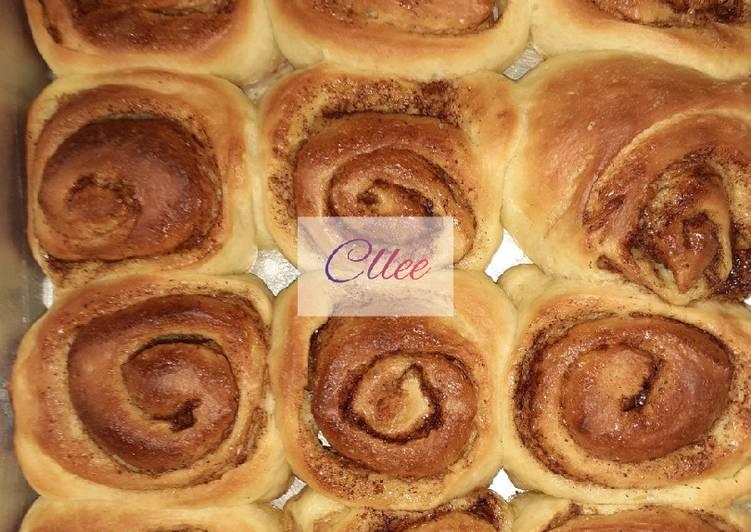Resep Cinnamon Roll Bikin Jadi Laper
