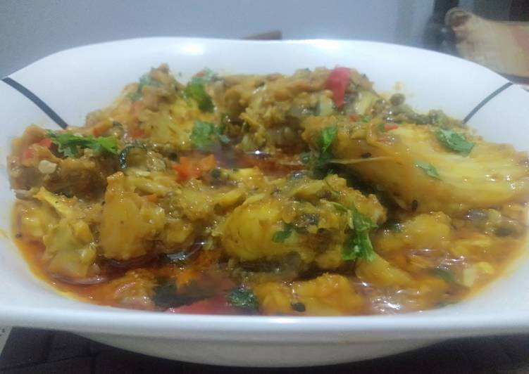How to Make Favorite Fish Curry (Machili Ka Salan)