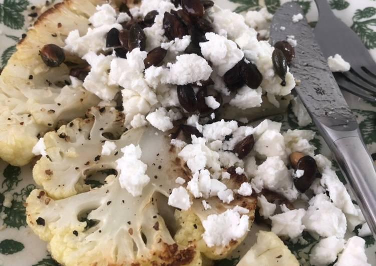 Step-by-Step Guide to Make Homemade Cauliflower & feta