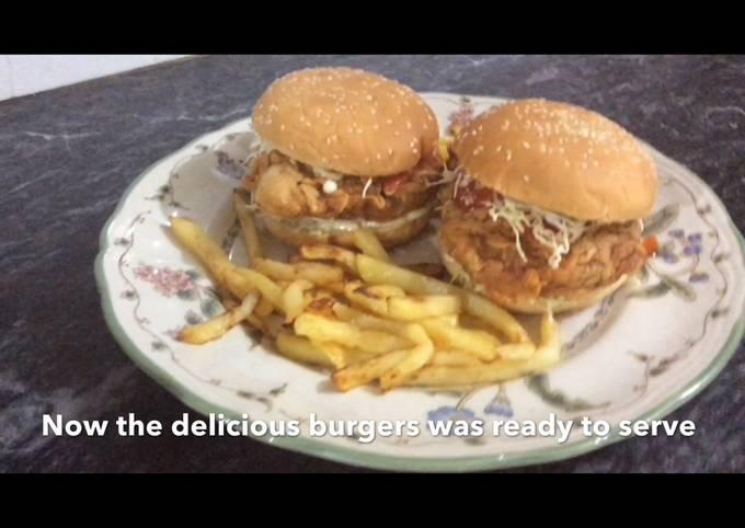 Recipe: Tasty Zinger burger recipe restaurant style
