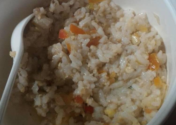 Resep Mpasi 10 Bulan Nasi Goreng Daging Oleh Meinanda Talitha Cookpad