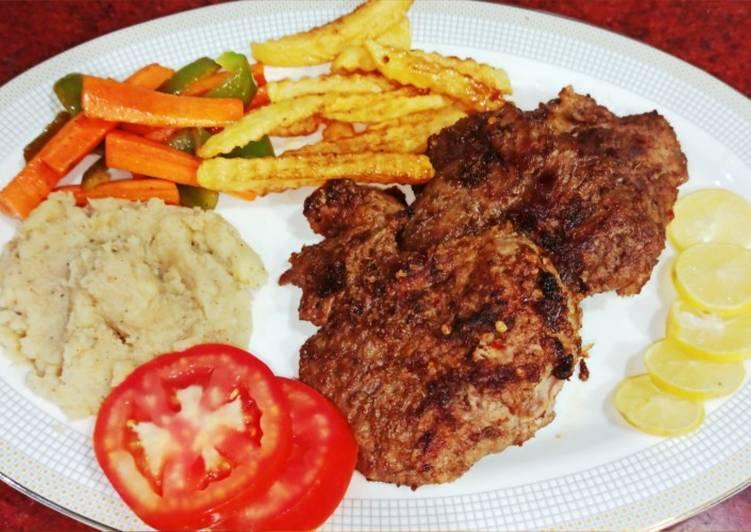 Steps to Prepare Most Popular Beef steaks platter