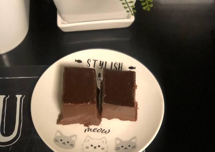 Puding brownies coklat cadbury gampang banget bikinnya