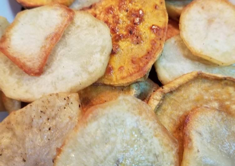 Baked MoJo's Fries