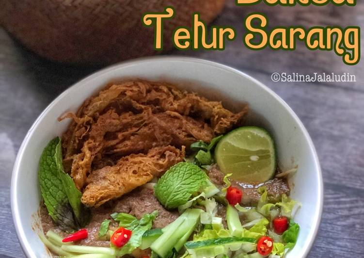 Laksa Telur Sarang - velavinkabakery.com