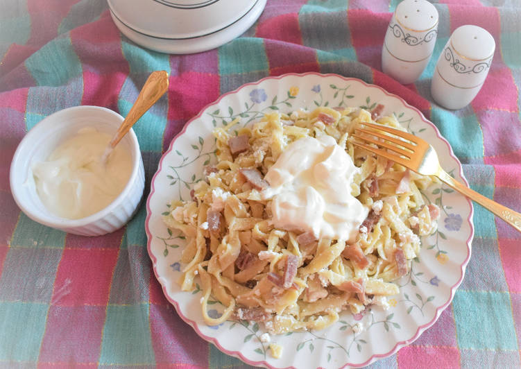 How to Elevate Your Mood with Food Ham and Curd cheese pasta