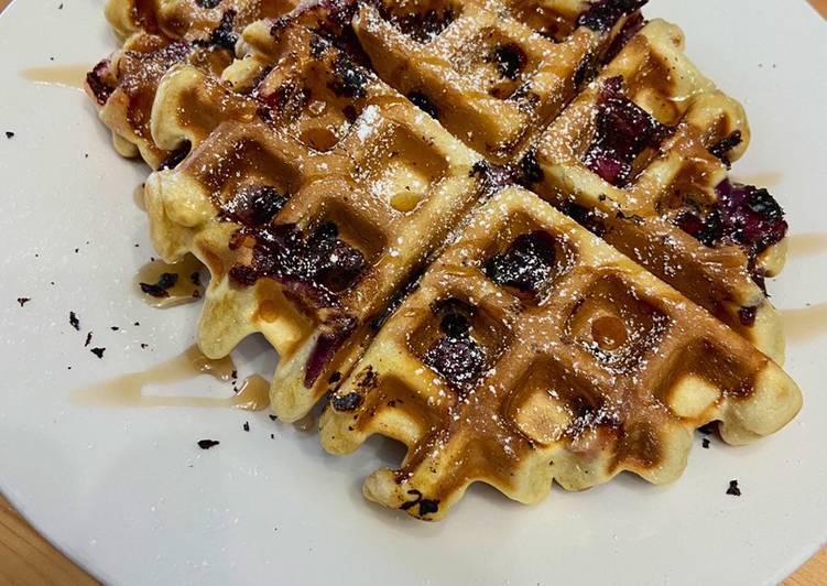 Strawberry & Blueberry Waffles