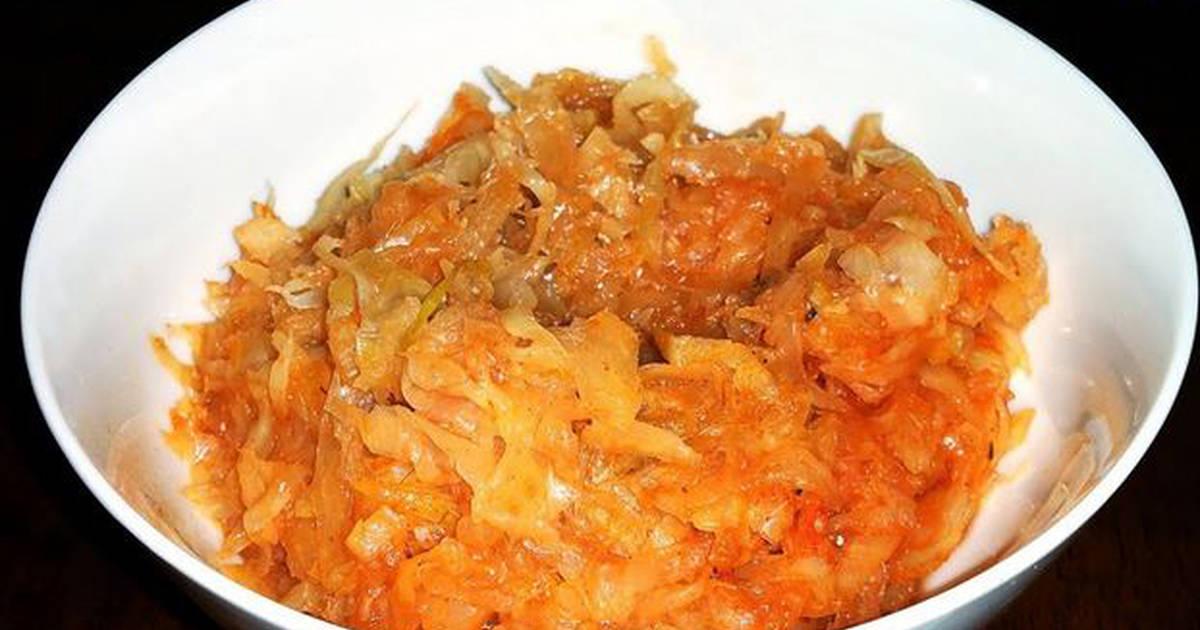мордовская кухня рецепты капуста тушеная целом