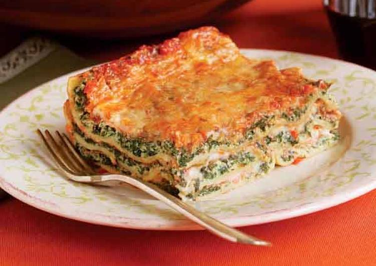 How to Cook Yummy Lasagna with ricotta and spinach