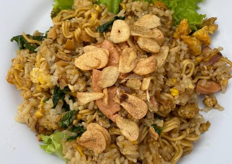 Nasi Goreng Mawut (Magelangan)