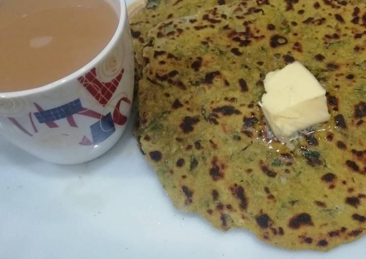 Best Comfort Dinner Ideas Favorite Bajra Methi Bhakri (Pearl millet)