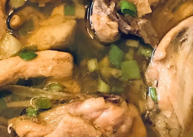 Ayam kukus minyak wijen