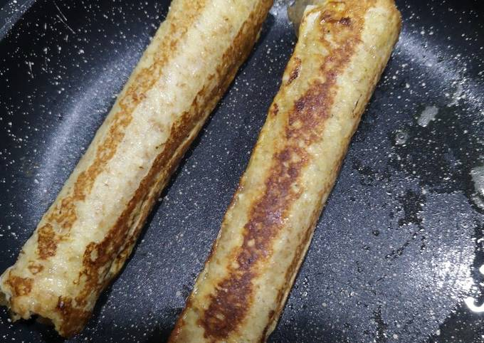 Roulés de pain perdu Nutella