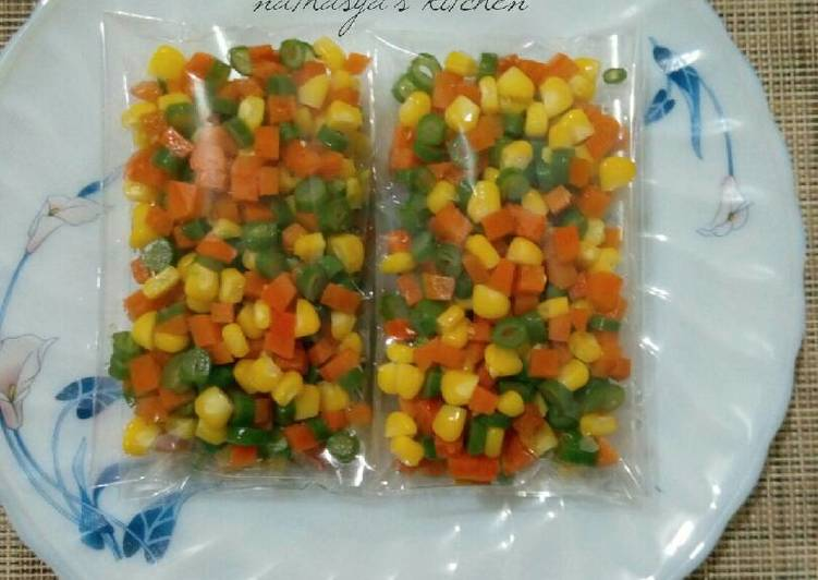 #Frozen Mix Vegetables
