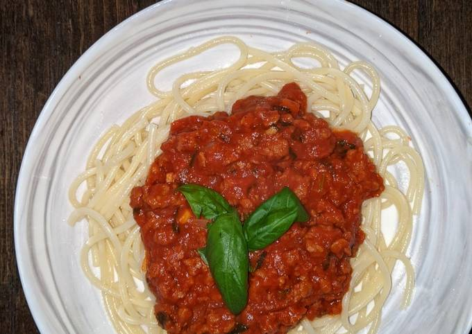 Beyond Beef Bolognese
