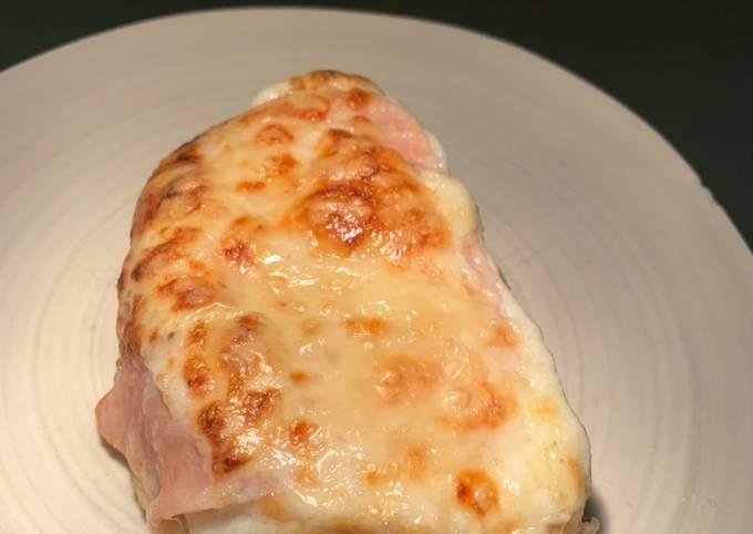 Recipe: Yummy Croque monsieur with cardamon béchamel