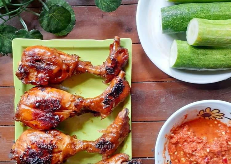Ayam bakar madu bahan simpel