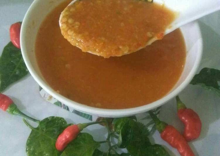 Cara Gampang Membuat Sambal untuk soto/bakso/mi ayam/sop ...