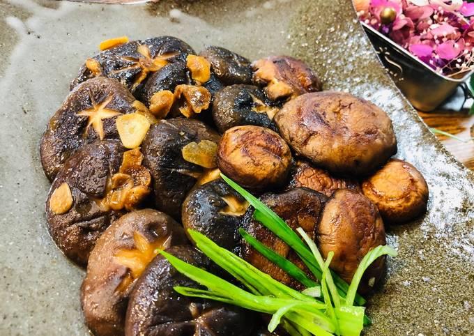 Japanese Butter Garlic Mushroom