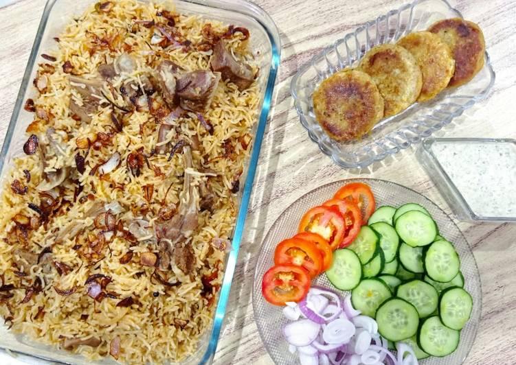 Recipe of Speedy Mutton yakhni pulao