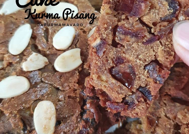 Cake Kurma Pisang (enak dan wangi banget)