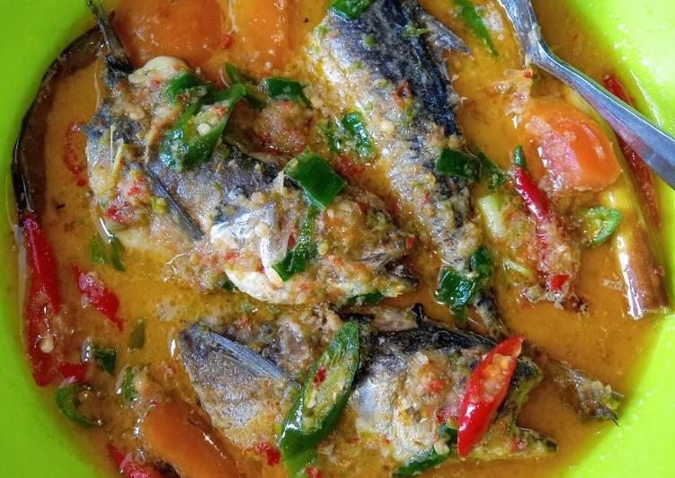 Ikan Kacangan Kuah Santan