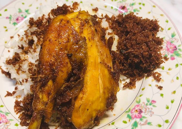 59🍒 Ayam goreng lengkuas 2in1 soto