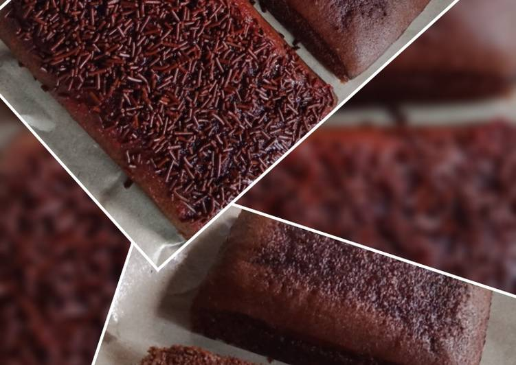 Cara masak Brownies kukus chocolatos , Sempurna