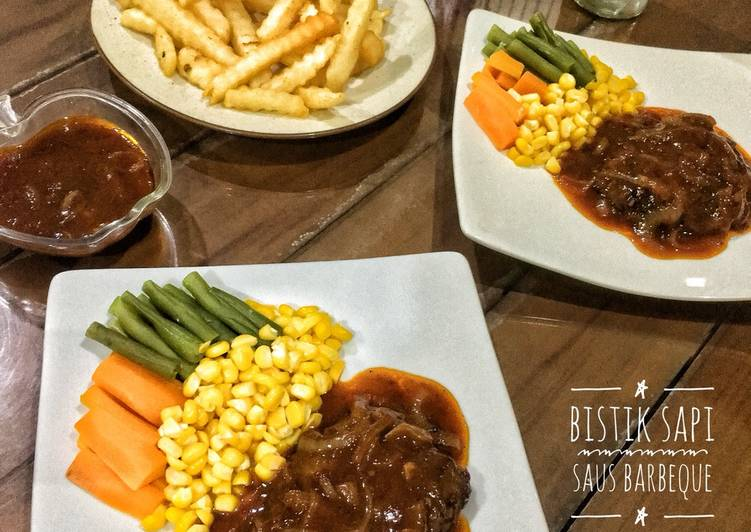 Bistik Sapi Saus Barbeque
