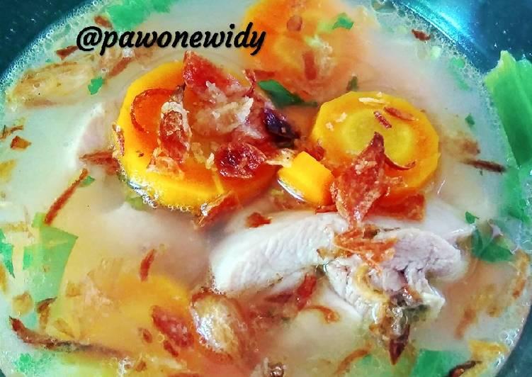 Bagaimana Membuat #11 Sop Ayam 🥘 ala pak Min yang Bikin Ngiler
