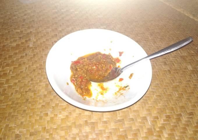 Resep Sambal bawang merah matang yang Enak