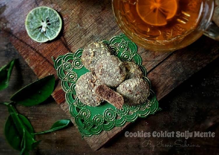 Cookies Coklat Salju Mente